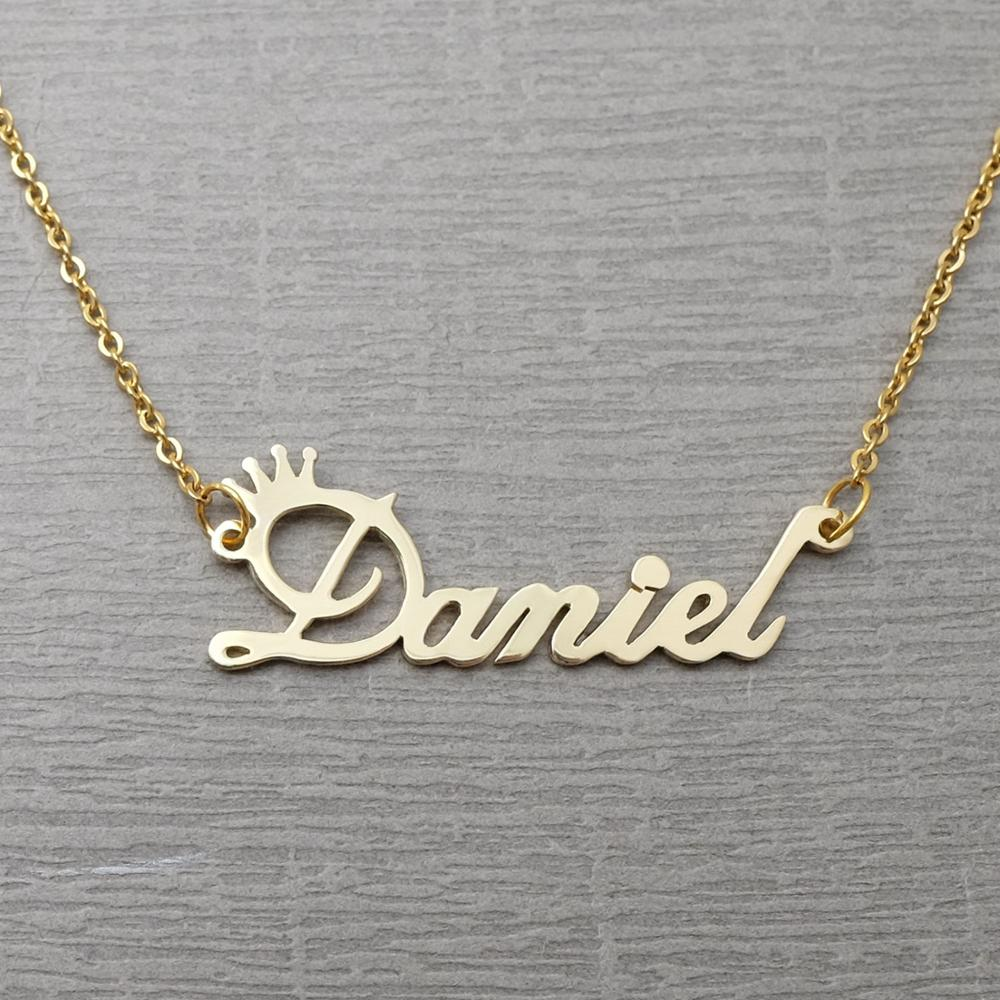 Description: Personalized name necklace,Custom name necklace, Custom Jewelry ...